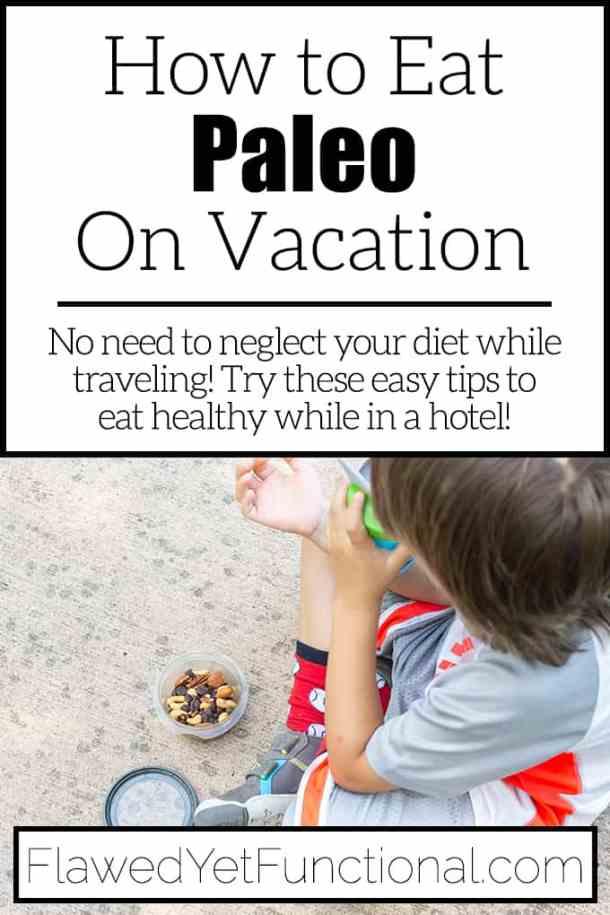 child eating trail mix on a sidewalk