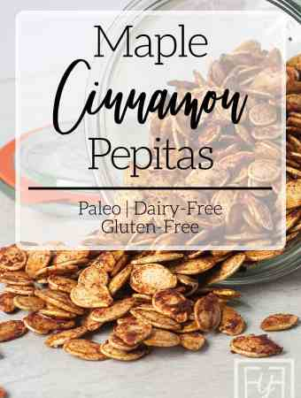 Maple Cinnamon Roasted Pepitas