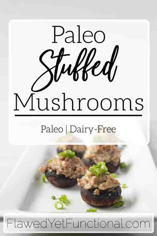 stuffed mushrooms with sausage