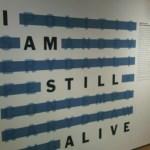 I am still alive by On Kawara