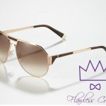 Dsquared2 Metal Aviator Sunglasses, Rose Golden