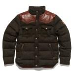 Penfield Stapleton Tweed Down Cropped Jacket