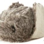 Sean John Reversible Faux Fur Bomber Hat