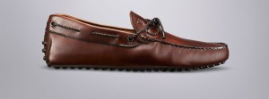 Tod's Men's Brown Leather Gommino Loafer