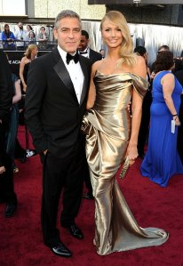 George Clooney 2012 Academy Awards Red Carpet