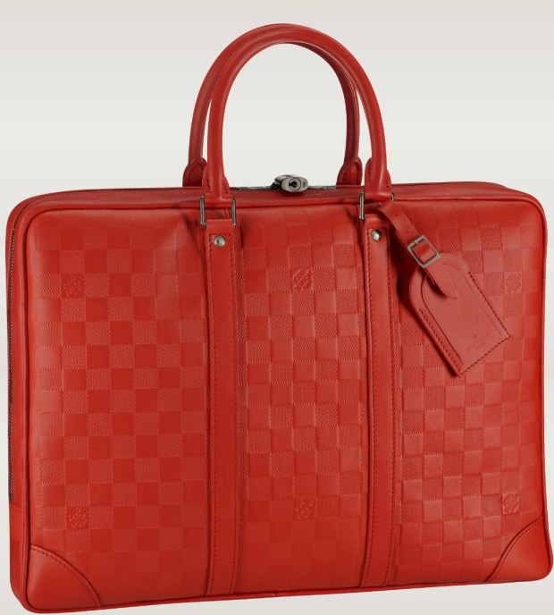 Louis Vuitton Damier Porte Documents Voyage Briefcase