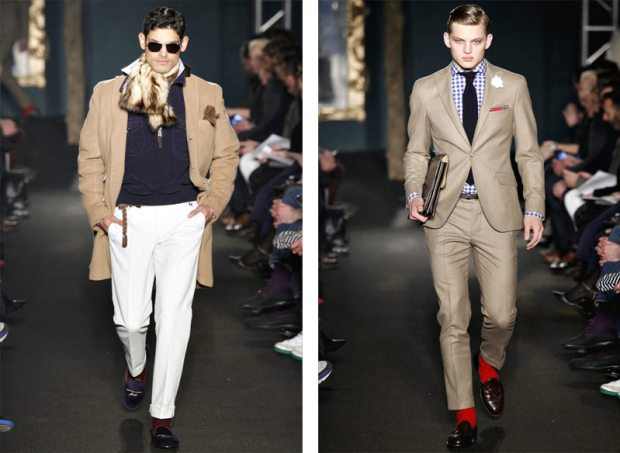 Michael Bastian Fall Winter 2012