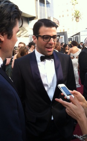 Zachary Quinto 2012 Academy Awards Red Carpet