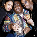 Notorious B.I.G., Puff Daddy, Kim Porter Photo