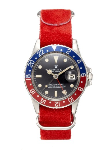 Rolex Stainless-Steel Oyster Perpetual GMT-Master Watch (c. 1972)