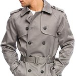 Armani Exchange Men's Classic Trench Coat