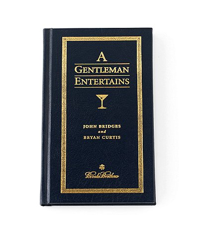 Brooks Brothers A Gentleman Entertains Book
