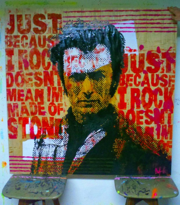 Kelcey Fisher Clint Eastwood Artwork