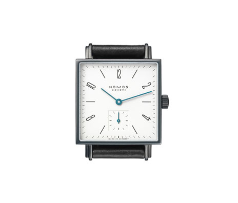 Nomos Glashutte Tetra Color Watch