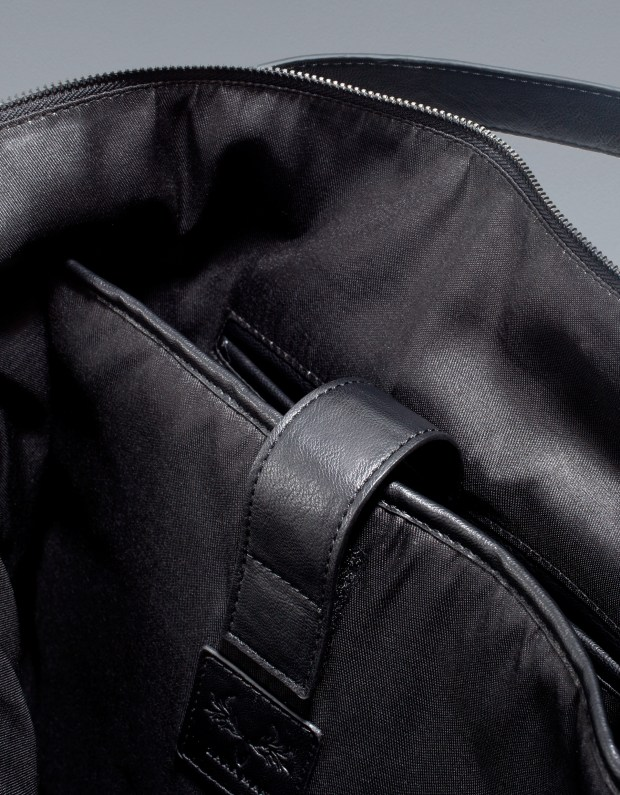 Zara Men's Cary-All Bag With Buckles