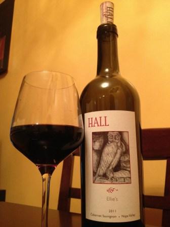 Hall 2011 Cabernet Sauvignon Wine Review