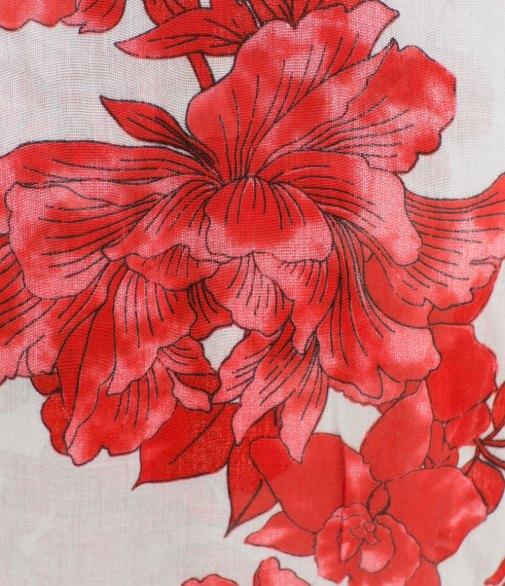Zara Men's Floral Print Scarf 2