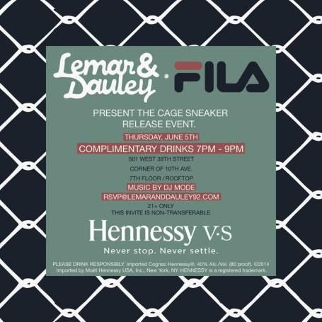 Fila x Lamar & Dauley Cage Sneaker Event