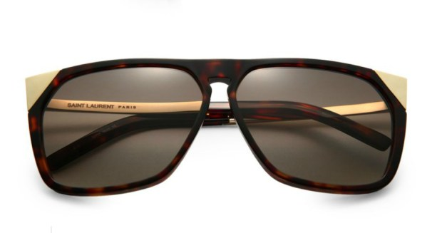 Saint Laurent Oversized Square Acetate Sunglasses 2