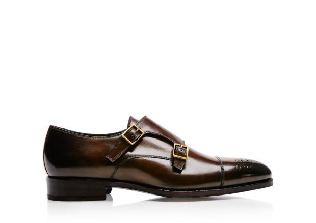 Tom Ford Austin Double Monk Strap Shoe