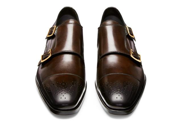 Tom Ford Austin Double Monk Strap Shoe