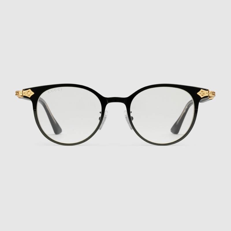85d3333e14a Flawless CrownsGucci Round-Frame Glasses - Flawless Crowns
