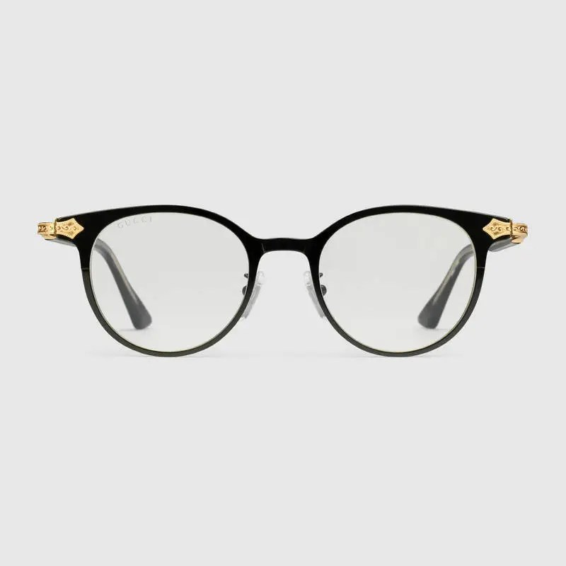 Flawless Crowns - Gucci Round-Frame Glasses