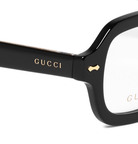 15f8c7a3eaa Flawless CrownsGucci Square-Frame Acetate Optical Glasses - Flawless ...