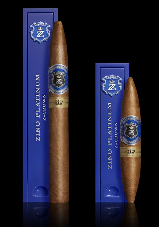 The Zino Platinum brand is making a grand comeback. The Davidoff brand has  just announced the launch of their new Zino Platinum Z-Crown cigar.