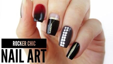 4c74e8a6a99a 5 Rocker Chic Nail Art Designs   Toronto Fashion Week!