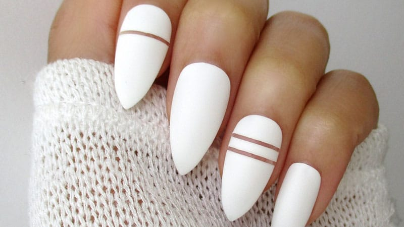 28 Stunning Almond Shape Nail Design Ideas – FlawlessEnd