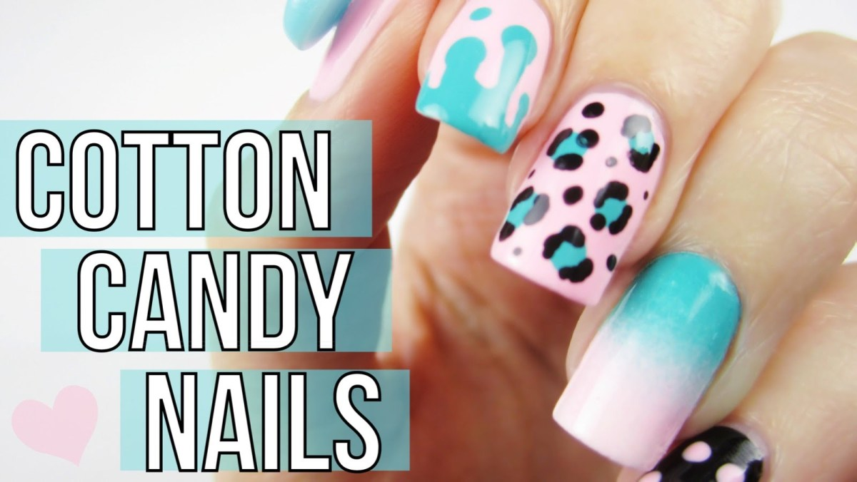 - Mix & Match Cotton Candy Nail Art Tutorial – FlawlessEnd