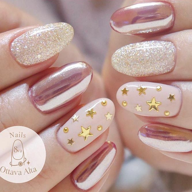 20 Star Nails Art Ideas for Your Brilliant Look – FlawlessEnd