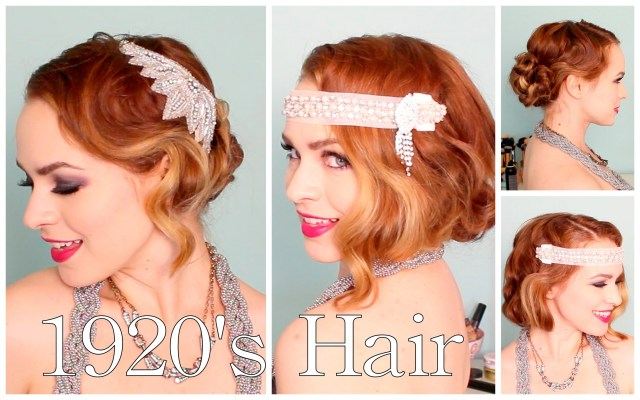 1920's faux bob, and updo tutorial!! - flawlessend