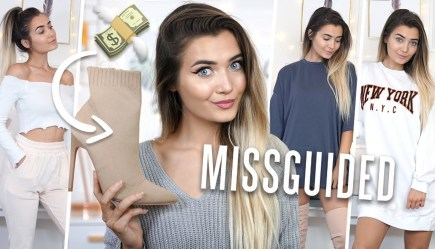 ebafc47677c MISSGUIDED ARE YOU FOR REAL!? HUGE AUTUMN TRY ON HAUL! *STUDENT FASHION