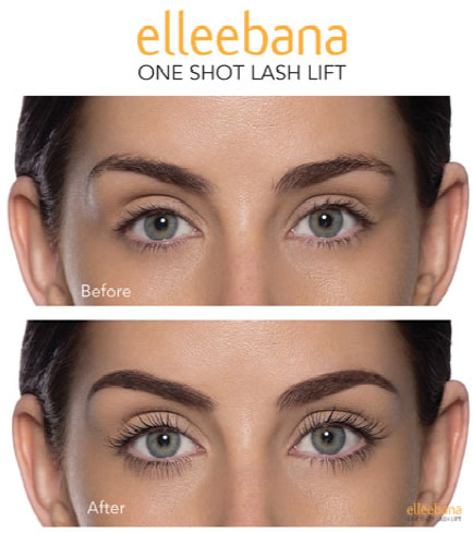Elleebana eyelash lift and tinting