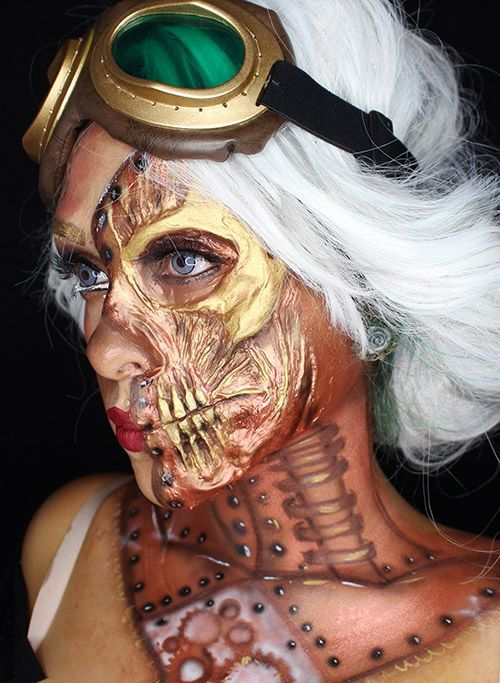 25 Beautiful Halloween Makeup Ideas to Look Fabulous  Flawssy