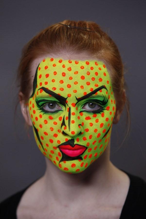 Pop-art Halloween Makeup Women - Flawssy