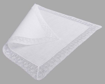 Filigree lace Handkerchief