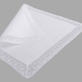 Filigree lace Handkerchief