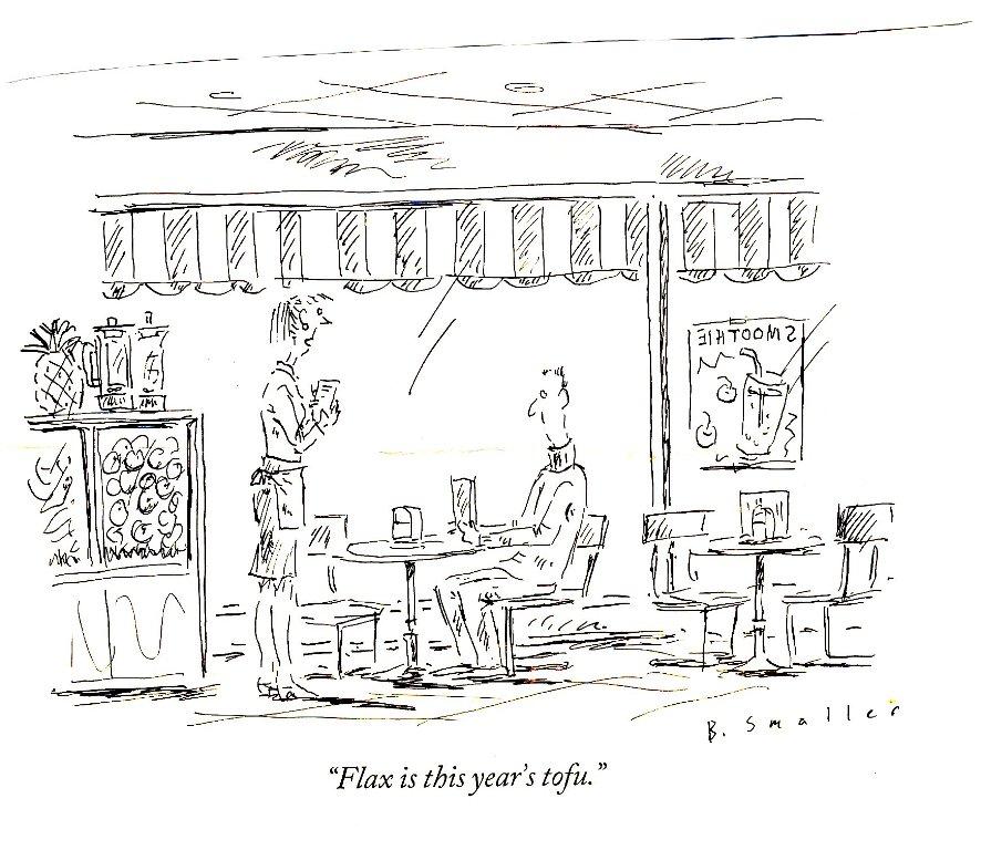 flax is new tofu - New Yorker