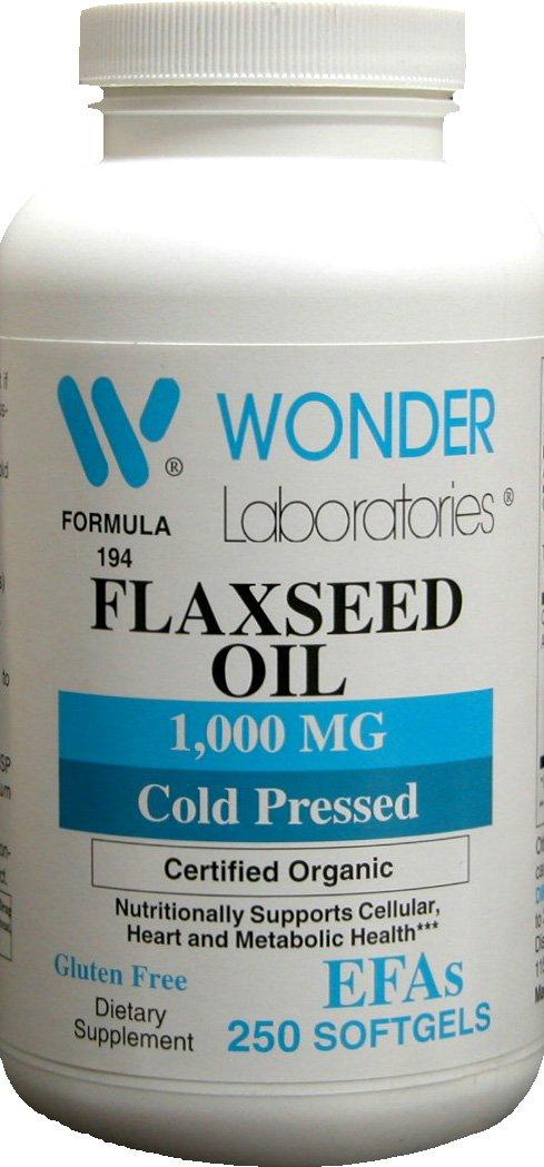 wonder laboratories flaxseed oil