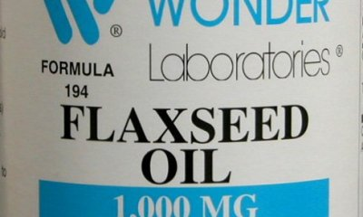wonder laboratories flaxseed oil