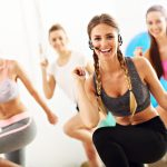 Photo of women who love working out! Learn to teach group exercise classes with an ace group fitness certification