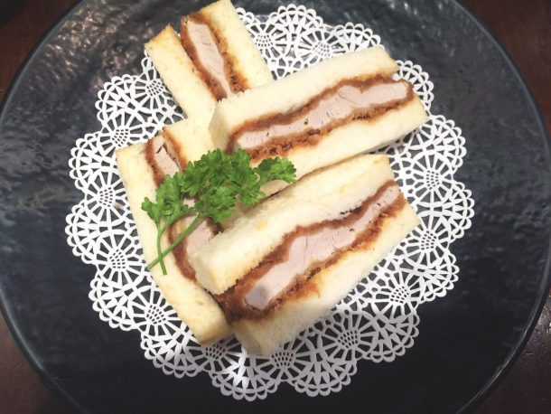Tonkatsu sandwich is one of the foods you must try in Waikiki