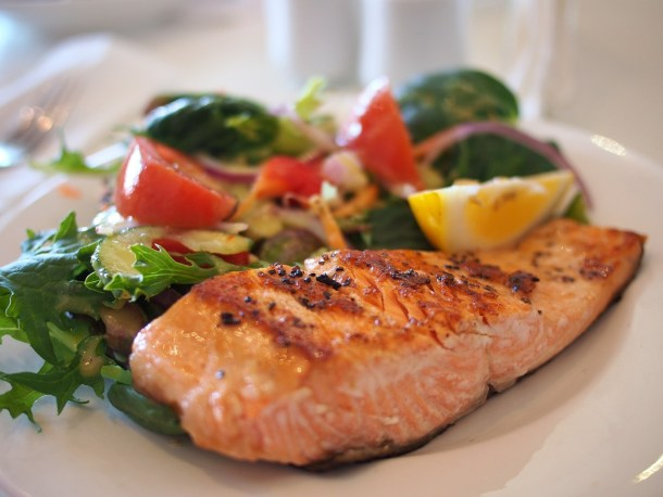 AIP condiments (AIP ketchup, AIP BBQ sauce) are a great way to make AIP meals such as salmon and vegetables more delicious