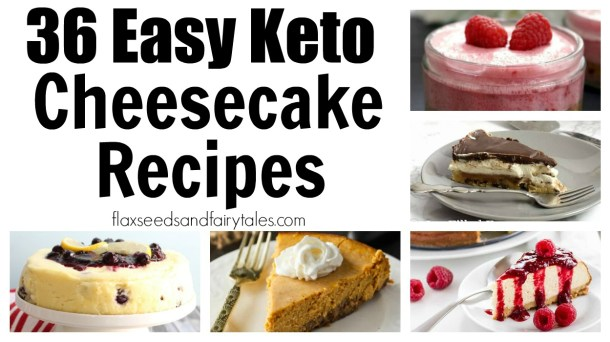 The best low carb keto cheesecake recipes including fat bombs, no bake, stevia sweetened, chocolate, and more!