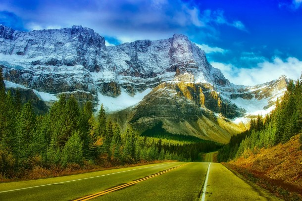 Beautiful Banff National Park in Canada is one of the most amazing places on earth to visit