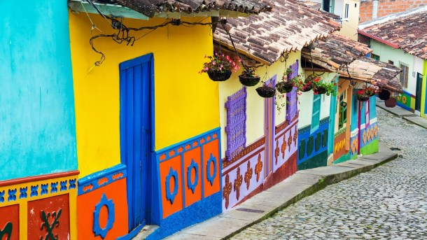 Beautiful and colorful Bogota, Colombia is a top place to see before you die
