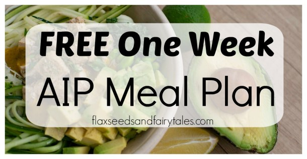 This easy 7 day AIP menu plan will help you heal autoimmune disease naturally! It includes the best AIP diet recipes and a grocery list to get you started on the right track!
